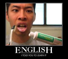 English Is Important!