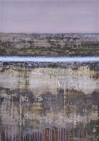 JOANNA LOGUE (born 1964) Passage of Blue 1996 acrylic on board
