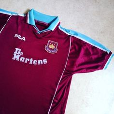 Classic hammers home shirt - link in bio  whufc  westham  hammers  uptonpark 9d7e57c39