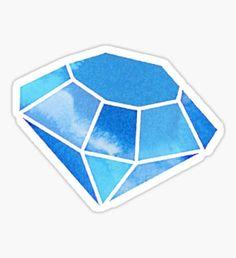 Watercolor Diamond by Kristin Sheaffer