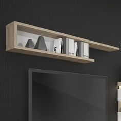 Mercury Row Floating Shelf, with top and bottom shelves to hold CD/DVD's or display items. Corner Wall Shelves, Cube Shelves, Floating Wall Shelves, Room Shelves, Wooden Shelves, Display Shelves, Wall Cubes, Nordic Chic, Pine Walls
