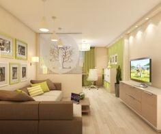 Гостиная + детская - Дизайн интерьеров | Идеи вашего дома | Lodgers