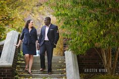 Kathryn and Erik – Engagement Session – Mellon Park and Shadyside | Kristen Wynn Photography