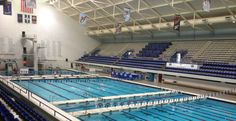One of my favorite pools. IUPUI Natatorium