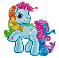 The rainbow dash I grew up with