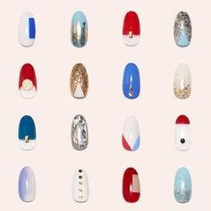 Wishing all of our clients, fans, and friends a wonderful 4th of July!  #paintboxmani #4thofjulynails