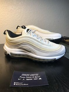 3f4d4842ee992b Amazon.com  nike airs. Womens Nike Air Max 97 Phantom White ...