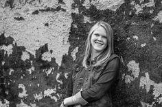 High School Senior Portraits Asheville, NC| B&W teen portrait| Kathy Beaver Photography