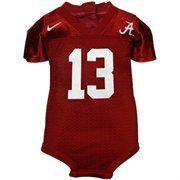 Nike Alabama Crimson Tide Crimson Infant Replica Football Jersey Creeper