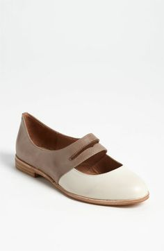 Jeffrey Campbell Deposit Flat | Nordstrom. two tone updated saddle shoes.