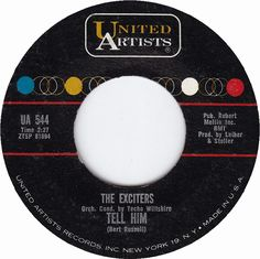 "Soul Serenade: The Exciters, ""Tell Him"" Old Records, Vinyl Records, Good Music, My Music, One Hit Wonder, Chuck Berry, Rock Of Ages, Music Radio, Rhythm And Blues"