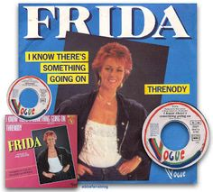 "Frida's ""I Know There's Something Going On"" entered the charts in France in September 1982 where it spent 5 weeks at number 1 #Abba #Frida #France http://abbafansblog.blogspot.co.uk/2017/09/frida-single.html"