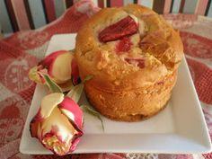 Rhubarb and Custard Muffins