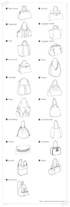 가방 종류 - 가방의 종류 : 네이버 블로그