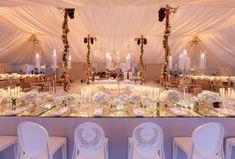 6 Ideas For Designing Chic Wedding Centerpieces Luxury Wedding Decor, Luxury Wedding Invitations, Chic Wedding, Elegant Wedding, Dream Wedding, Gold Wedding, Winery Wedding Venues, Tent Wedding, Destination Weddings