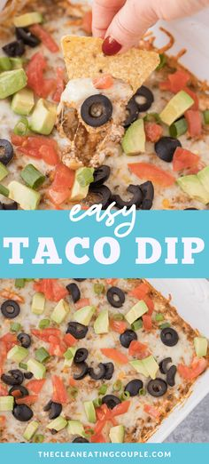 The Best Easy Taco Dip Recipe made with no cream cheese! This hot taco dip is so quick to make with ground beef & tastes amazing! High in protein, keto friendly and so delicious. Dip Recipes, Cheesy Recipes, Healthy Gluten Free Recipes, Snack Recipes, Keto Recipes, Paleo, Appetizer Dips, Healthy Appetizers, Appetizer Recipes