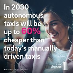 The answer to our traffic woes is a collaborative mixture of autonomous vehicles, public transport and robocab taxi services. Learn more about our experts' future vision for urban mobility: http://rb.digital/2GgLVrG