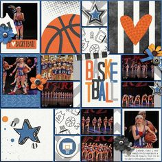 Layout created with {Biggest Fan: Basketball} Digital Scrapbook Collection Digital by Dream Big Designs available at Sweet Shoppe Designs http://www.sweetshoppedesigns.com//sweetshoppe/product.php?productid=33546&cat=&page=1 #dreambigdesigns