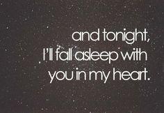 Je pense à toi. J'espère que tu tiens le coup mon amour.