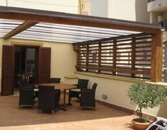 Pergola Attached To House Roof Refferal: 8407313657 House Design, House, House Renovation Design, House Architecture Design, Wooden Pergola, Pergola On The Roof, Pergola Cost, Roof Design, Small House Design Plans