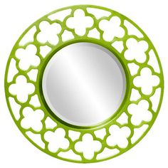 Howard Elliott Celtic Round Wall Mirror