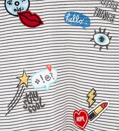 Image 7 of Patches T-shirt from Zara