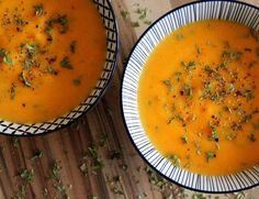 Leckere Kartoffel - Möhren - Suppe