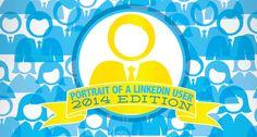 LinkedIn user portrait statistics 2014