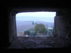 The window to Tuscany.