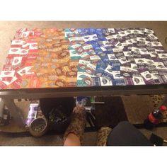 Swisher sweets table!