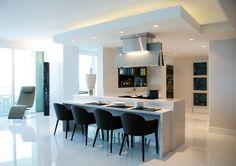 Interior Design: Concepto Uno Project: Contemporary Mood Kitchen GOSSIP Chairs