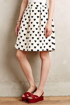 Petite Hearts Skirt
