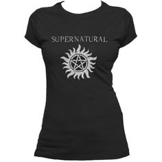 Supernatural Anti-Possession Symbol Ladies Juniors T Shirt... ($22) ❤ liked on Polyvore featuring plus size fashion, plus size clothing, plus size tops, plus size t-shirts, indigo, t-shirts, tops, women's clothing, longsleeve t shirts and long short sleeve shirts