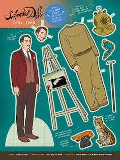 Here Are Your Favorite Artists As Paper Dolls. Enjoy. | Huffington Post