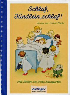 Schlaf, Kindlein, schlaf! Reime zur Guten Nacht Fritz Baumgarten MINI Bilderbuch