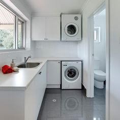 small laundry top loader Home Design Photos
