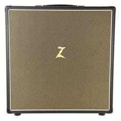 Dr. Z Extension Cabinet 4x10 Open-Back Black w/Tan Grill & Z10 Speakers