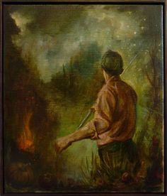 Christopher Orr Untitled 2013 35.8x30cm