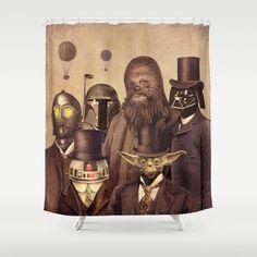 Victorian Wars  Shower Curtain by Terry Fan - $68.00