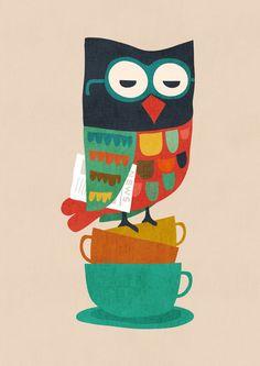 Morning Owl by Budi Satria Kwan