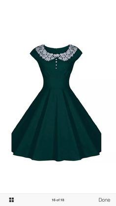 Lace round neck midi dress size 10
