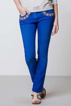 Maison Scotch Bordered Jeans