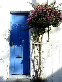 Blue Door - Colonia del Sacramento, Uruguay