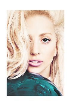 Lady Gaga. She's so beautiful in this picture :)
