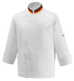 CHAQUETA COCINERO  DEUTSCHLAND  EGOCHEF  Mod. 106010 60% Cotton - 40% Polyester