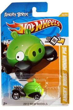 Angry Birds Minion Green Pig Hot Wheels  Game Searches