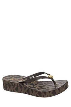 Michael Kors Bedford Women's Platform Flip Flop Sandals