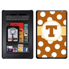 University of Texas - Polka Dots design on a Black Thinshield Case for Amazon Kindle Fire by Coveroo. $39.95. This hard shell polycarbonate case offers a slim fit form factor, while covering the back and sides of your Kindle Fire