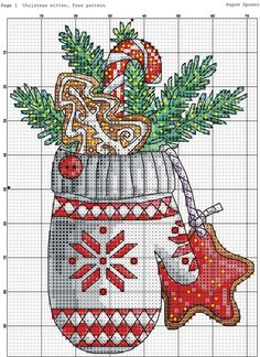 ru / Photo # 185 - New Year - BlueBelle Cross Stitch Owl, Cross Stitch Charts, Cross Stitch Designs, Cross Stitching, Cross Stitch Embroidery, Embroidery Patterns, Cross Stitch Christmas Ornaments, Christmas Embroidery, Christmas Cross Stitch Patterns