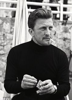 Kirk Douglas at the Cannes Film Festival, 1953